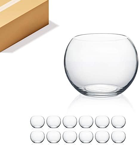 Baseball Glass Vase