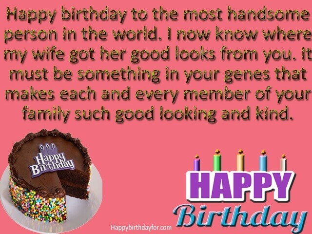Happy Birthday Wishes for Father in Law images photo greetings cards wallpaper pics pictures