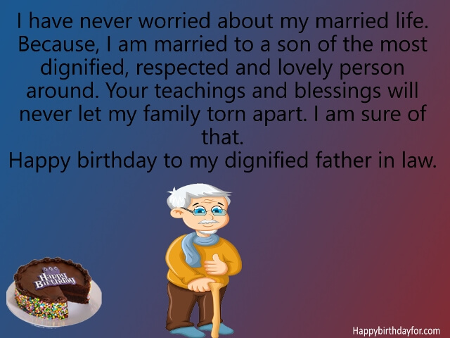 happy Birthday quotes for Father in Law greeting cards wallpapers pics pictures images photos