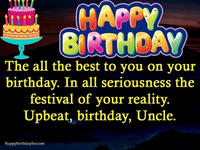 Birthday Wishes for Uncle images messages quotes cards pictures gifts photos wallpapers