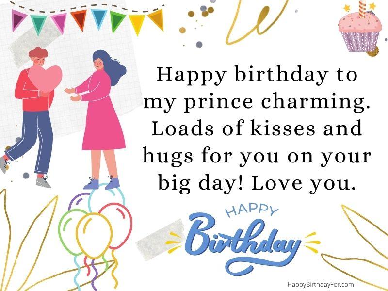Happy Birthday Wishes For boyfriend image