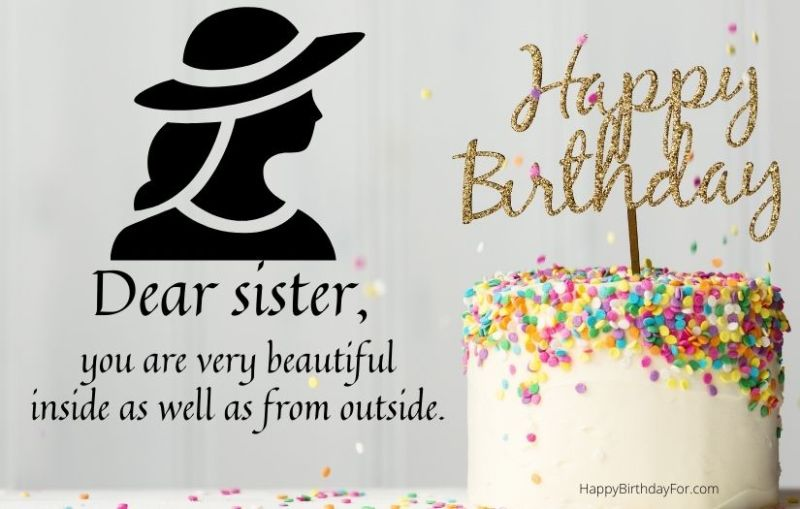 Happy Birthday Wishes Images For Elder Sister
