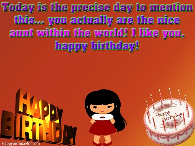 Happy Birthdays Wishes for Aunty messages images photos greetings cards wallpapers pictures gift