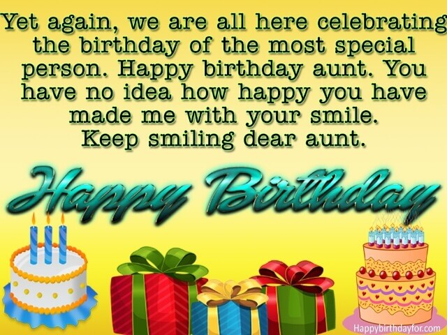 Happy Birthdays Wishes for Aunty messages images photos gifts greetings cards wallpaper picture