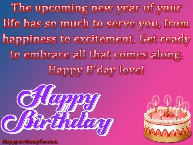 Happy Birthday Wishes for Girlfriends from Boyfriends images sms photos gifts pictures wallpapers cards