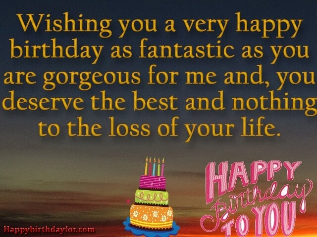 Happy Birthdays Wishes for Girlfriends from Boyfriends images photos gift pictures wallpapers cards-min