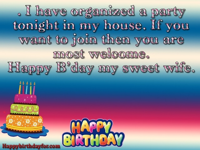 Happy Birthdays Wishes for Wife images gifts photos images cards wallpapers messages