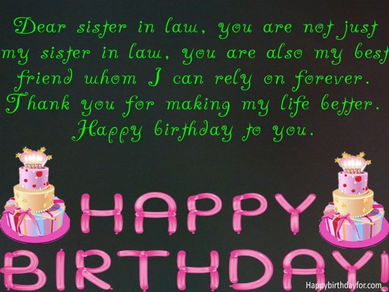 Happy birthday messages for elder sister in law messages greetings