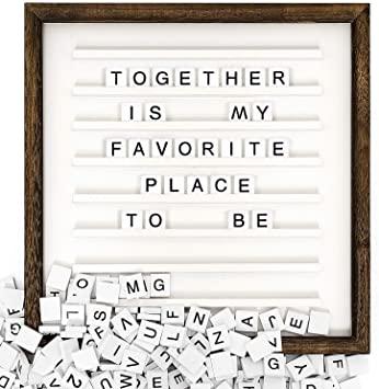 Scrabble Tile Message Frames