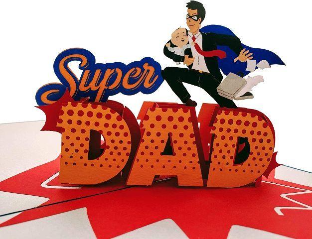 Super Dad Pop Box Set birthday gift