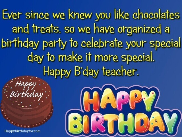 happy birthdays wishes and Message for teacher images pictures photos greetings cards wallpaper