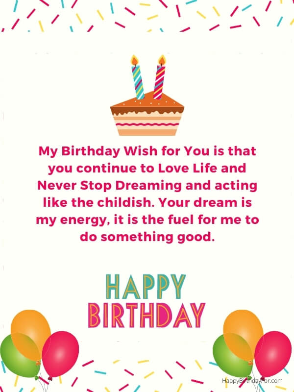 Birthday Wishes For Someone You Love  Most