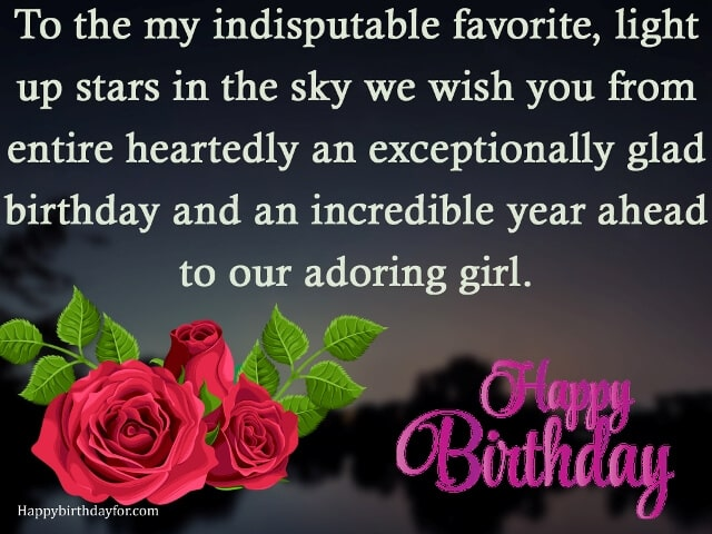 Birthday Wishes for Daughter from mom cards photos pictures images pics min