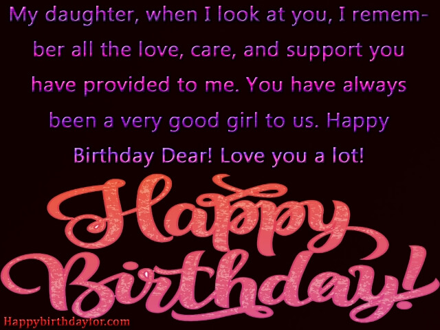 Birthday Wishes for Daughter from mom card photos pictures images wallpapers pic