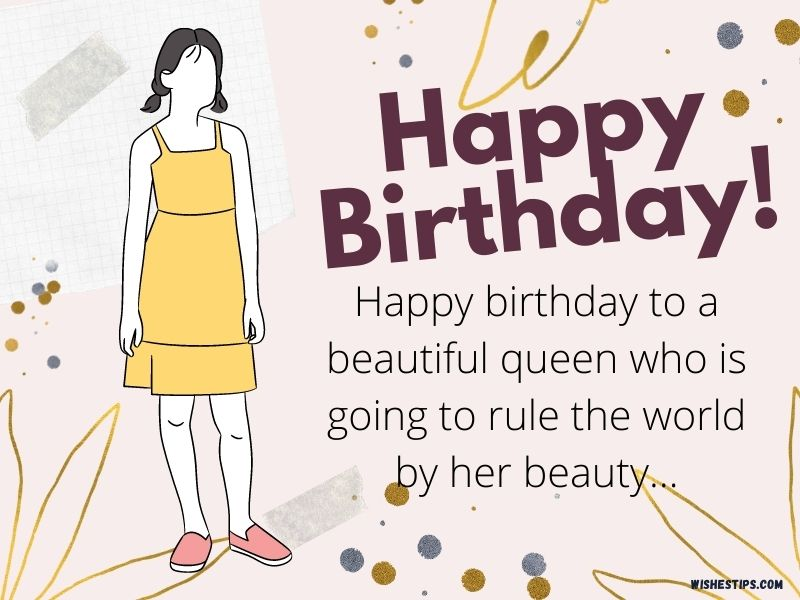 Happy Birthday Wishes And Messages for Your Best Female Friend