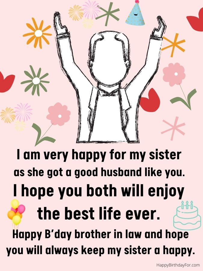 Happy Birthday Wishes For Brother in Law Happy Birthday Quotes for Brother In Law