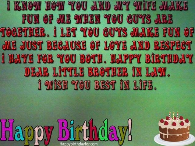 Happy Birthday Wishes For Brother In Law wishes Pictures Messages Greetings card