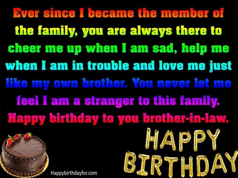 50 Happy Birthday Wishes For Brother In Law