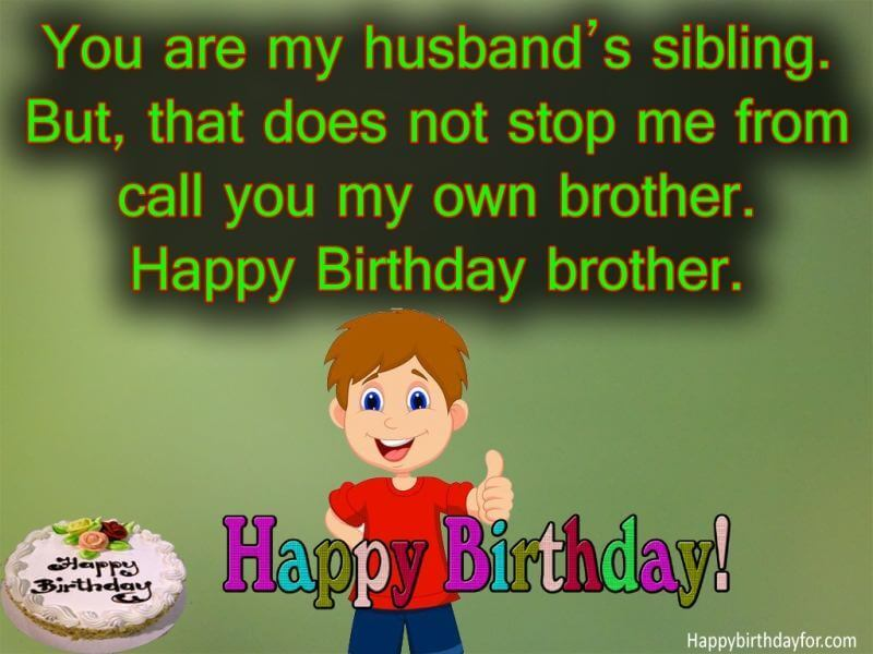 Happy Birthday Wishes Brother In Law wishes Pictures Messages Greetings card