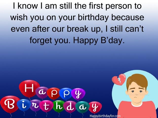 Happy wishing birthday ex 45 Happy