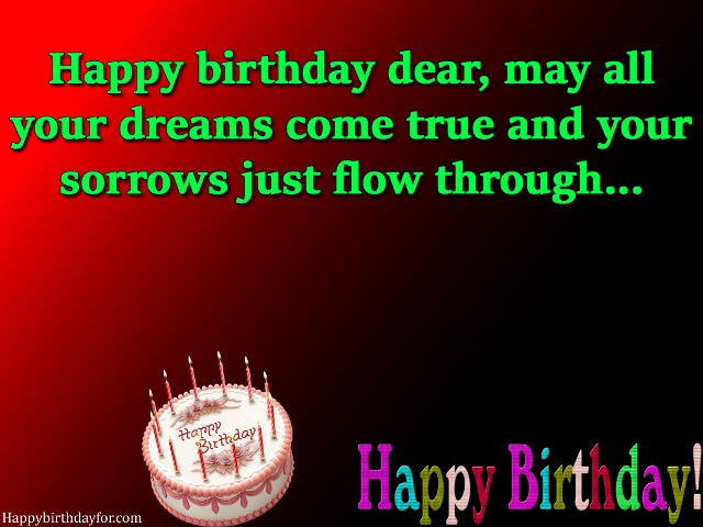 Happy Birthdays messages for female friends images photo greetings cards wallpapers