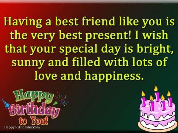 Happy Birthday Wishes For Best Female Friend 137 Messages