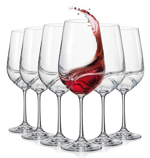 Top self wine glass birthday gift