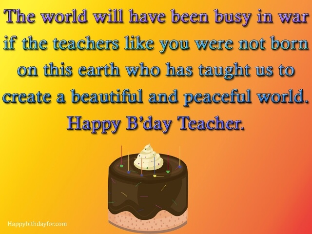happy birthday wishes and Messages for teacher images pictures photos grettings cards wallpapers