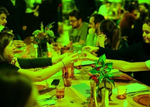 Birthday surprise dinner party