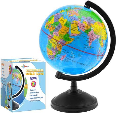 Globe Birthday gift for office staff