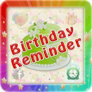 Birthday Reminder Apps