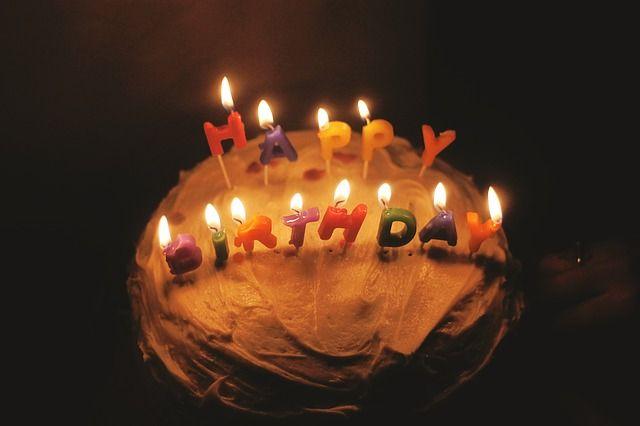 birthday cakes candles celebration