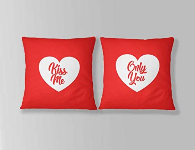 Couple pillows gift for wife