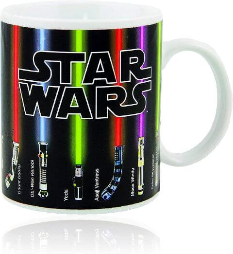 A printed mug