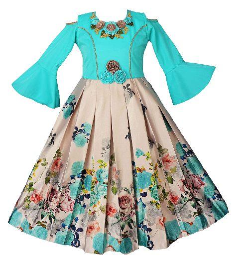 Maxi dress for birthday girls