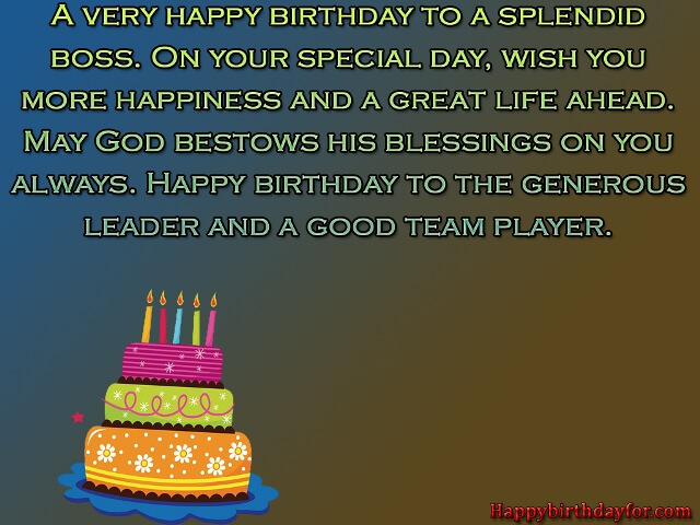 Happy Birthdays Wishes for Boss photos picture wallpapers images greetings cards messages
