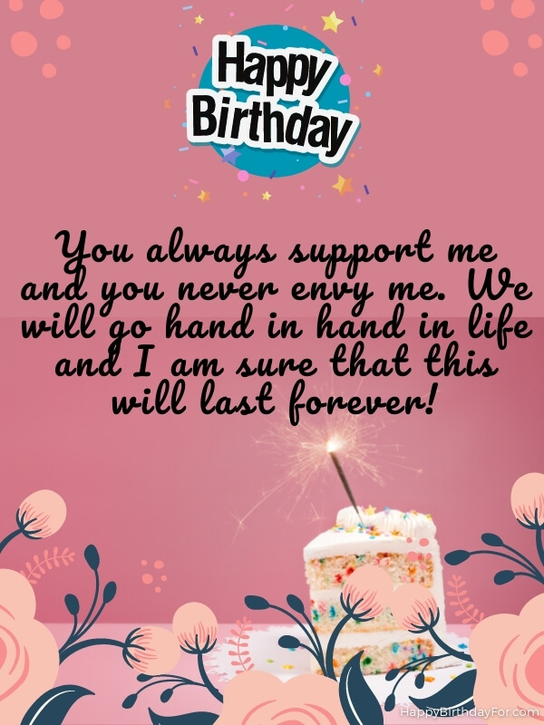 Birthday Wishes & Messages To Younger Sister From Elder