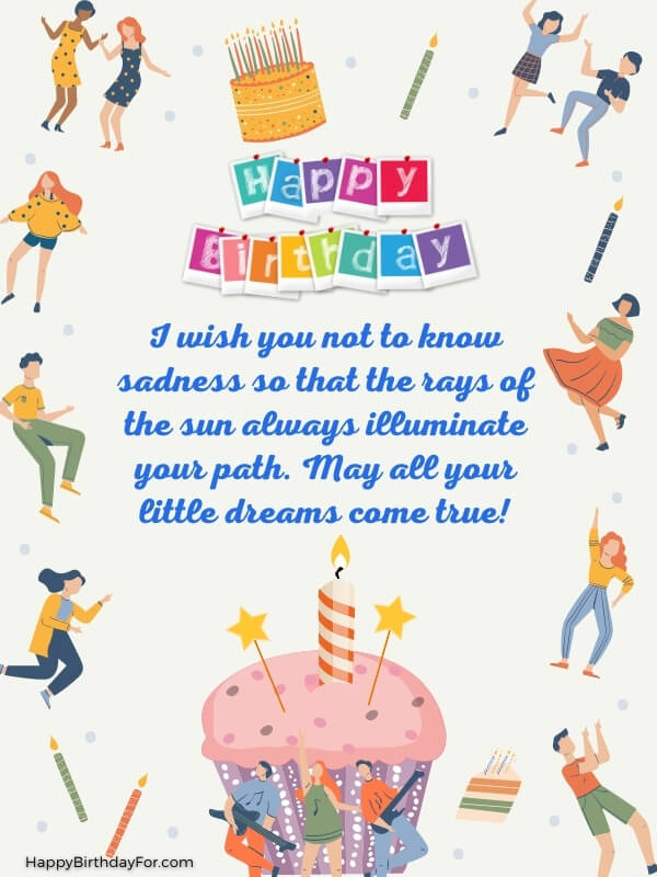 Happy Birthday Wishes For Younger Sister