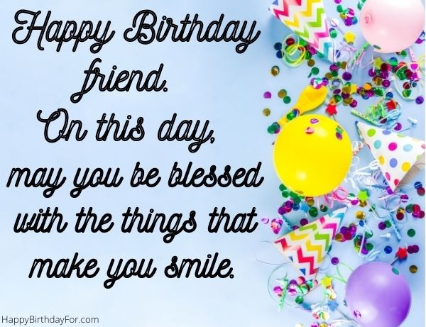 happy birthday friend wishes images