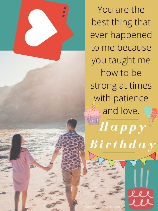 Happy Birthday wishes for him love