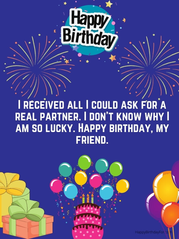 Birthday Best Wishes And Messages For a Friend