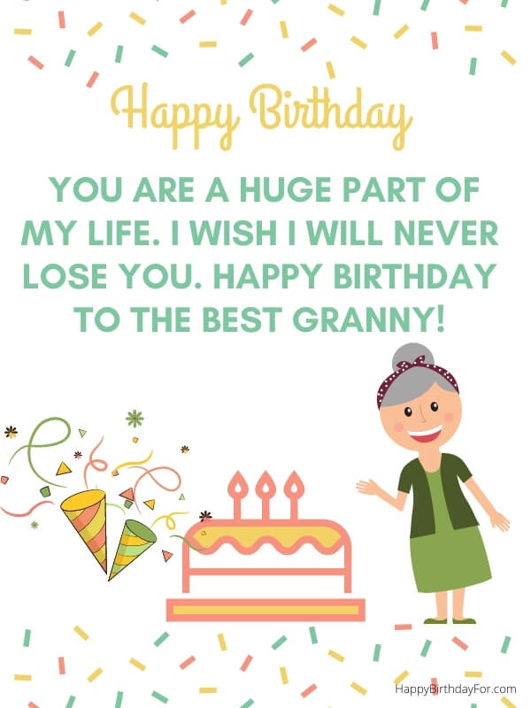 Birthday Wishes And Messages For Grandma (Grandmother)