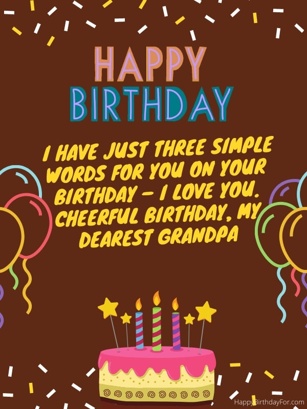 Birthday Wishes And Messages For Grandpa (Grandfather)