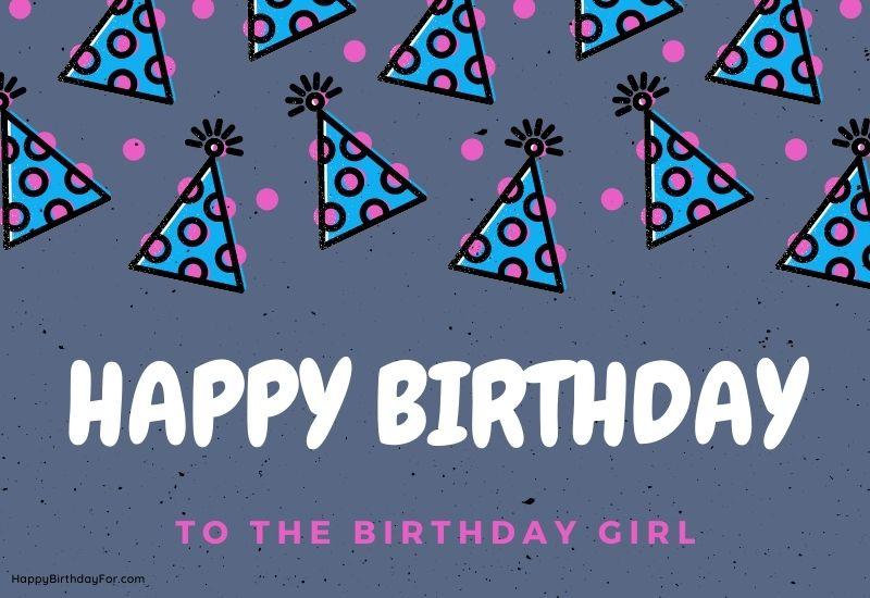 Birthday Wishes My Dear Friend girl