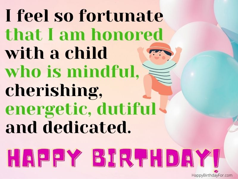 100 Happy Birthday Wishes And Messages For Son From Mom With Images