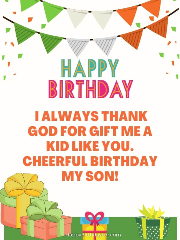 Happy Birthday Wishes For Son From Mom