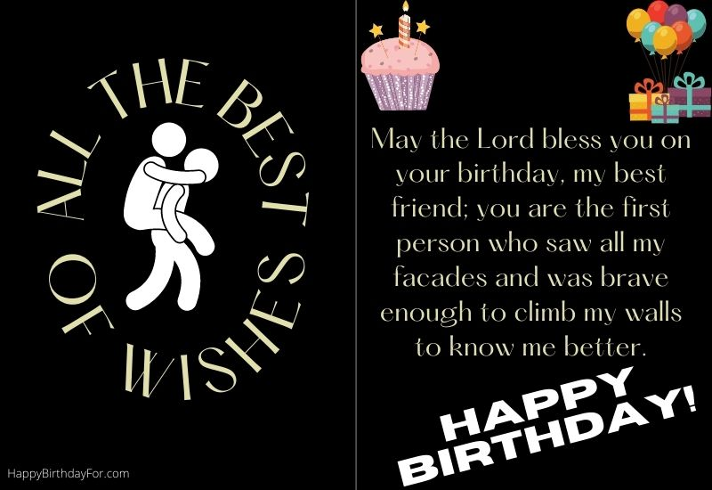 Happy Birthday Wishes for a friend image message