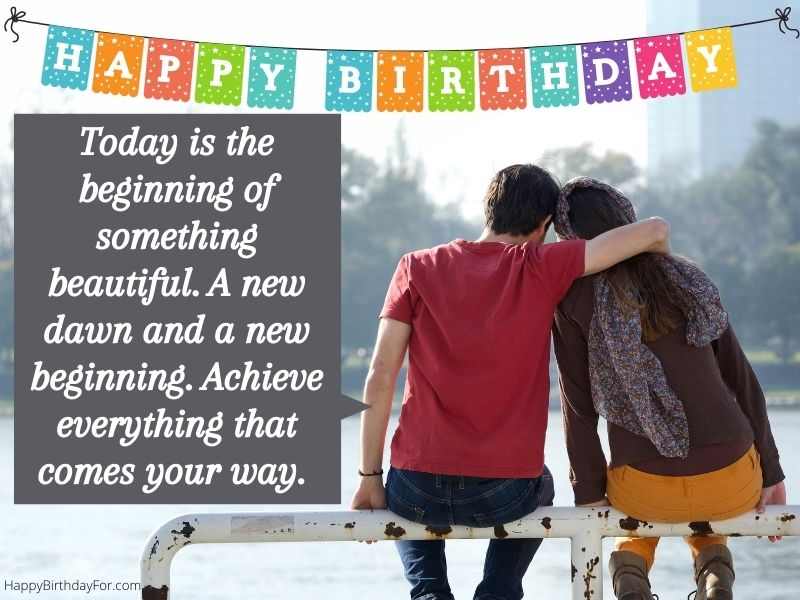 Happy Birthday Wishes for husband, wife, boyfriend, girlfriend lover