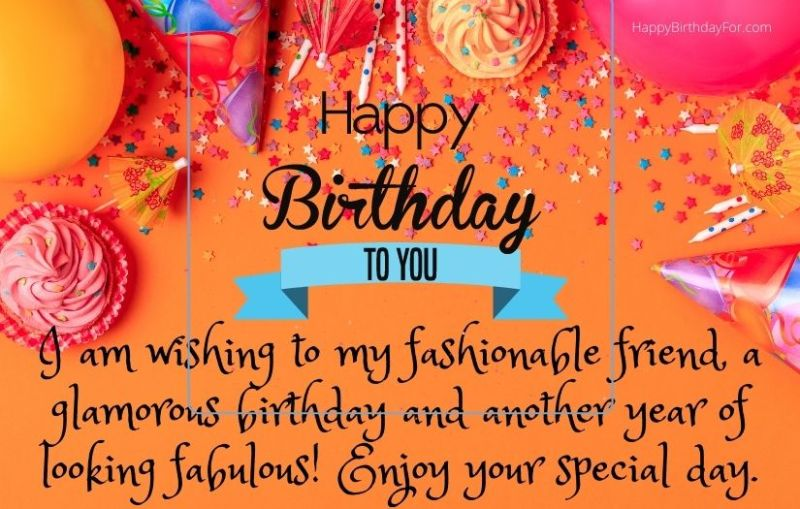 Happy Birthday messages for friend