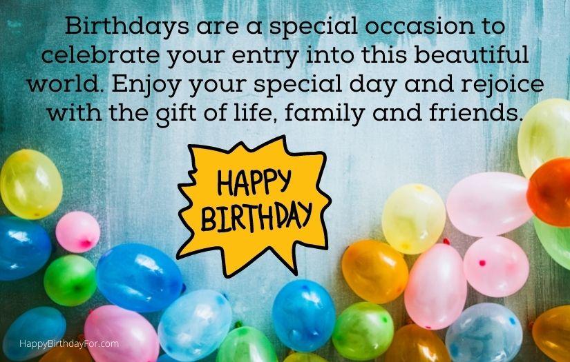 Happy Birthday wishes for best friend girl boy male female closed